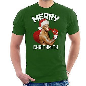 Christmas Mike Tyson Merry Chrithmith Men's T-Shirt