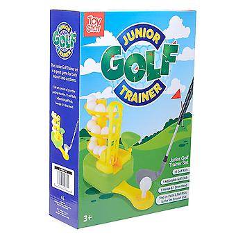 Junior Golf Training Set Toy Kids Mini Golfing Trainer Outdoor Activity Game