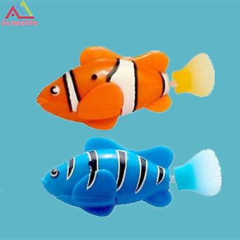 Funny Swimming Electronic Robofish Activated battery powered Robo toy Fish Robotic pet for fish Tank decorating Fish A185