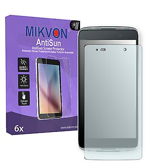 Alcatel OneTouch Idol 3 Lite Screen Protector - Mikvon AntiSun (Retail Package with accessories)
