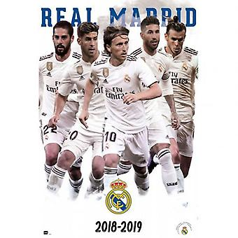 Real Madrid Poster Players 61
