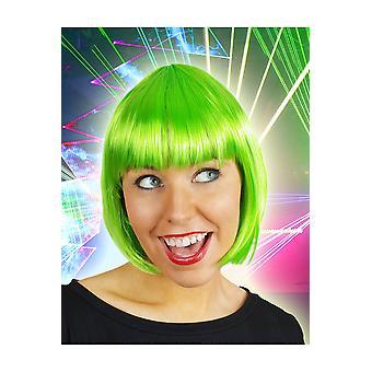 Bob Parrucche Parrucca Sophia Fluo Green