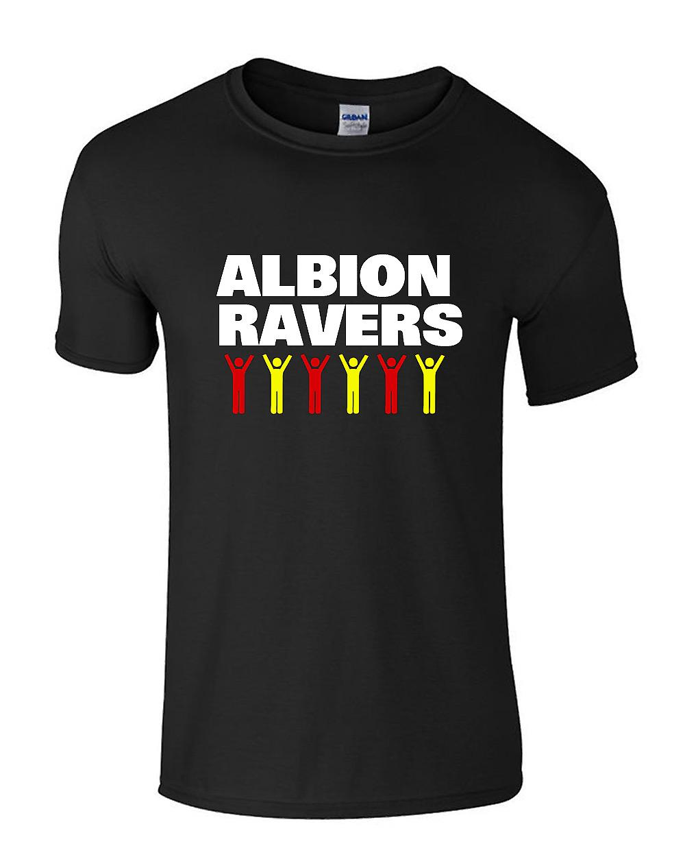 T-shirt Albion Ravers Celebration (Noir)
