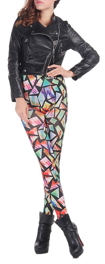 Waooh - Legging imprimé carrés colorés Euda