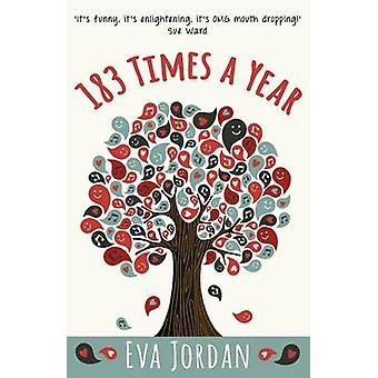 183 Times a Year by Eva Jordan - 9781911129813 Book