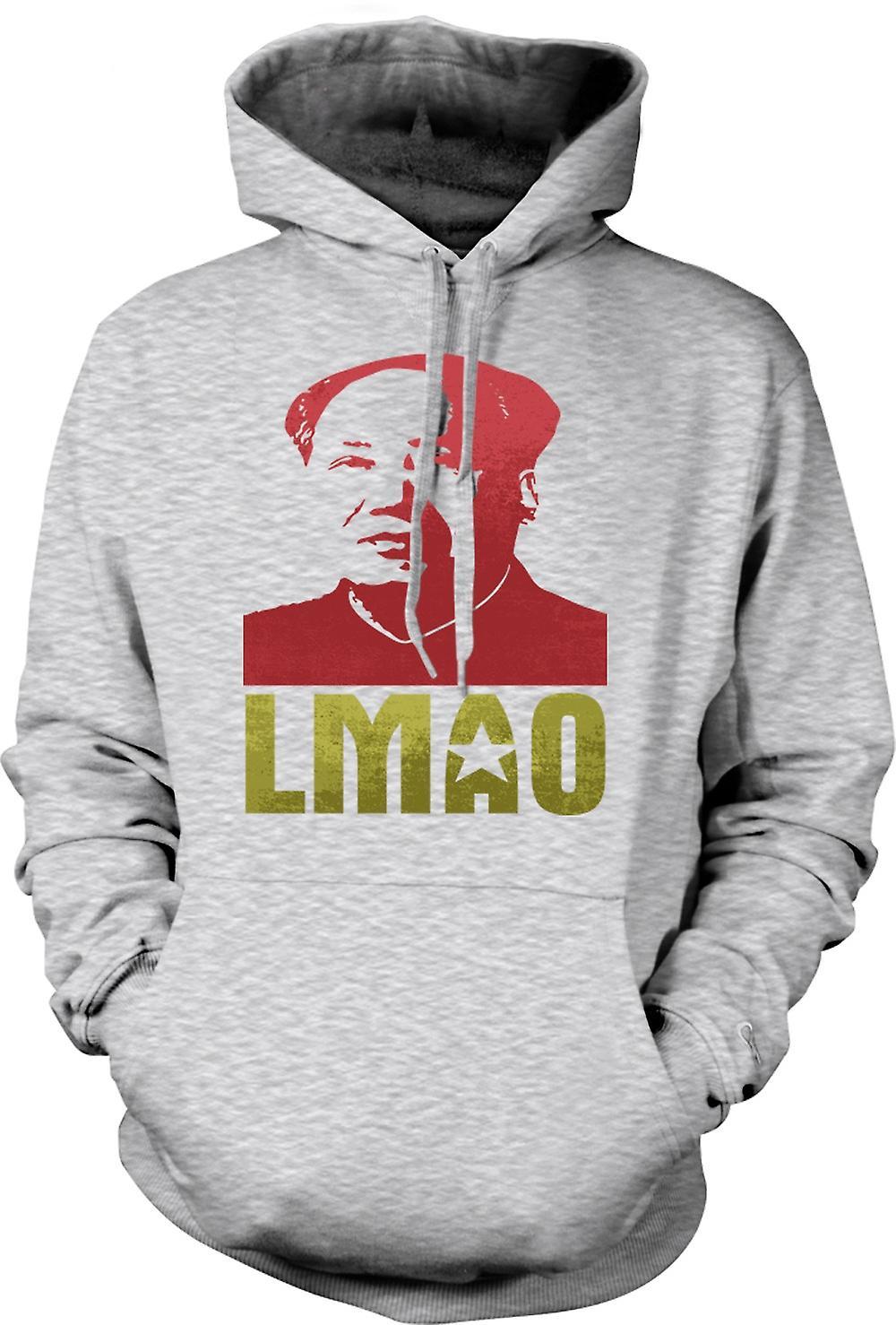 Mens-Hoodie - LMAO Vorsitzenden Mao - lustig