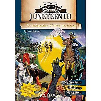 Historien om Juneteenth: et interaktivt historie eventyr (du: historie)