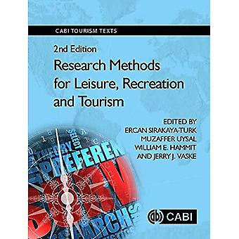Research Methods for Leisure, Recreation and Touri