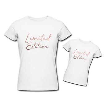 Rose goud en White Limited Edition bijpassende Tshirt Set