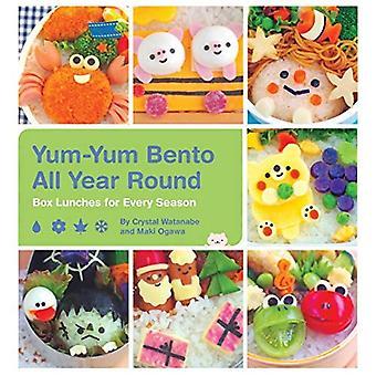 Yum-Yum Bento året runt: rutan luncher för varje säsong
