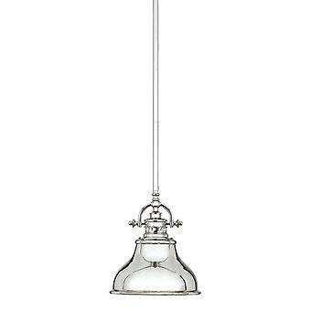 Emery Imperial Silver Mini pendel - Elstead belysning Qz / Emery / P / S är
