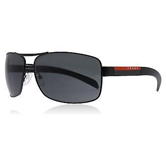 Prada Sport 54IS 1BO1A1 Black PS541S Pilot Sunglasses Lens Category 3 Size 65mm