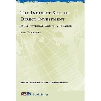 La parte indirecta de la inversión directa: empresa multinacional de finanzas e impuestos