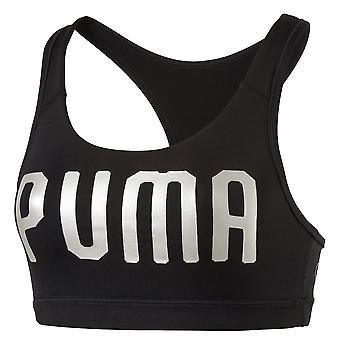 Puma Powershape Forever Womens Ladies Exercise Fitness Sports Bra Black