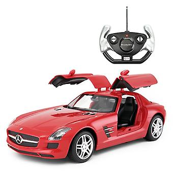 Licensed 1:14 Mercedes-Benz SLS AMG Remote Control Car Red- RideonToys4u