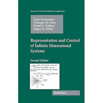 Representação e controle de sistemas de dimensão infinitos por Bensoussan & Alain