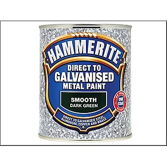 DIRECT TO GALVANISED DARK GREEN 750ML