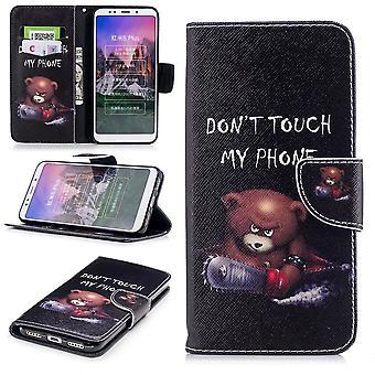 For Samsung Galaxy A50 6.4 tommers faux Lær pose bok motiv 30 beskyttelse ermet coveret veske nye