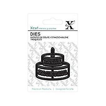 Xcut Mini Die - (1pc) Happy Birthday (XCU 503609)