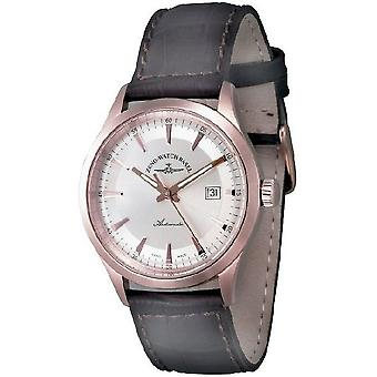 Zeno-watch mens watch gentleman automatic 2824 6662-2824-PGR-f3