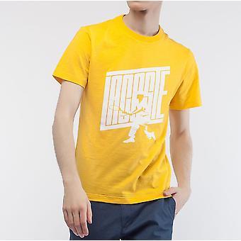 Lacoste-logotypen mäns Slim Fit Cotton T-Shirt-TH5016-G0W