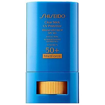 Shiseido Wetforce Clear Stick UV Protector SPF50+ 0.52oz / 15g