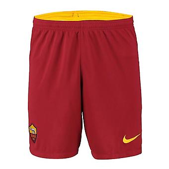 2019-2020 AS Roma Nike Away Shorts (Red)