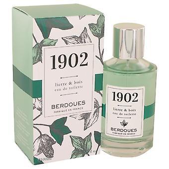 1902 Lierre & Bois Eau De Toilette Spray By Berdoues 100 ml