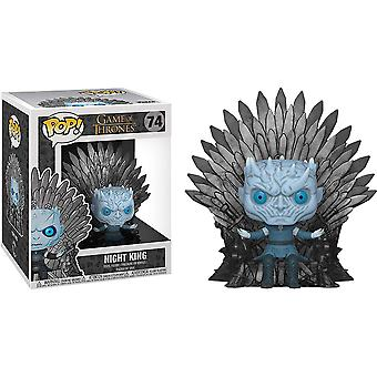 Game of Thrones Night King Iron Throne Pop! Deluxe