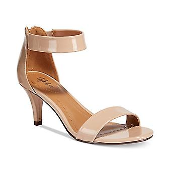 Style & Co. Womens paycee Leather Open Toe Casual Ankle Strap Sandals