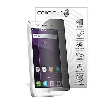 Celicious Privacy 2-Way Anti-Spy Filter Screen Protector Film Compatible with ZTE Blade V8 Mini