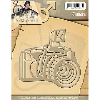 Find It Trading Amy Design It's A Mans World Die-Camera ADD10027