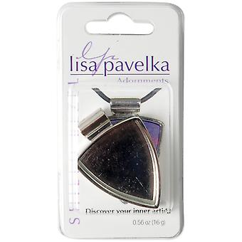 Lisa Pavelka Silver Plated Bezel 1 Pkg Shield Lp2714 9