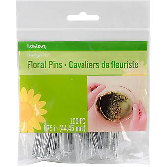 Floral Pins 1.75