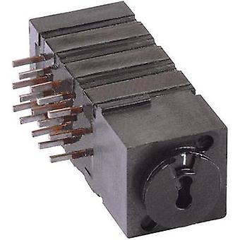 Rotary switch 60 V DC/AC 0.5 A Switch postions 10 Mentor 1843.9031 1 pc(s)