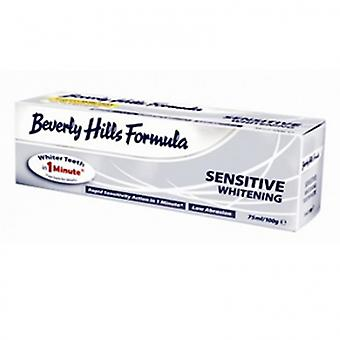 Beverly Hills formula sensitive whitening toothpaste 100 ml