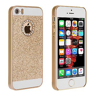 Yousave Accessories iPhone SE Flash Diamond Case Gold