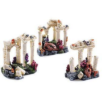 Classic For Pets Asst Grecian Columns 3pcs (Fish , Decoration , Ornaments)