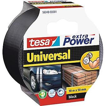 Cloth tape tesa tesa® Extra Power Black (L x W) 10 m x 50 mm