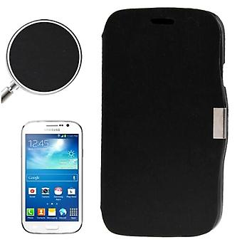 Cell phone cover case for Samsung Galaxy Grand duos GT-I9082 black brushed