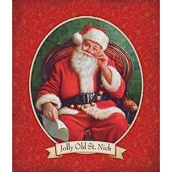 Jolly Old St Nick Poster Print by Mark Missman