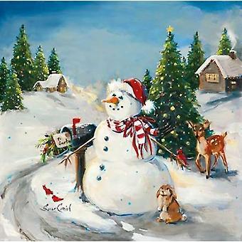 Aan Santa Poster Print by Susan Comish