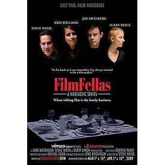 FilmFellas mestres de impressão de cartaz de filme de não-ficção (27 x 40)