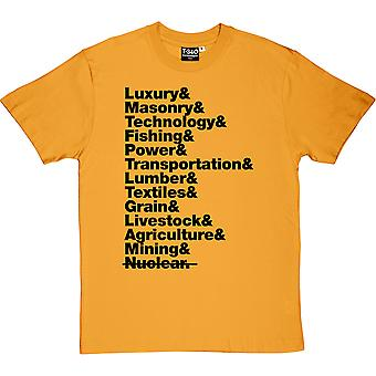 The Hunger Games District Line-Up Men's T-Shirt