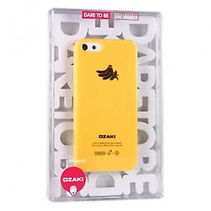 Ozaki OC537BA O! Coat fruit banana cover case iPhone 5 / 5s - yellow
