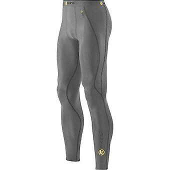 SKINS A200 Men's Compression Long Tights grey marle - B60102001