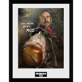 Walking Dead Negan Collector Print