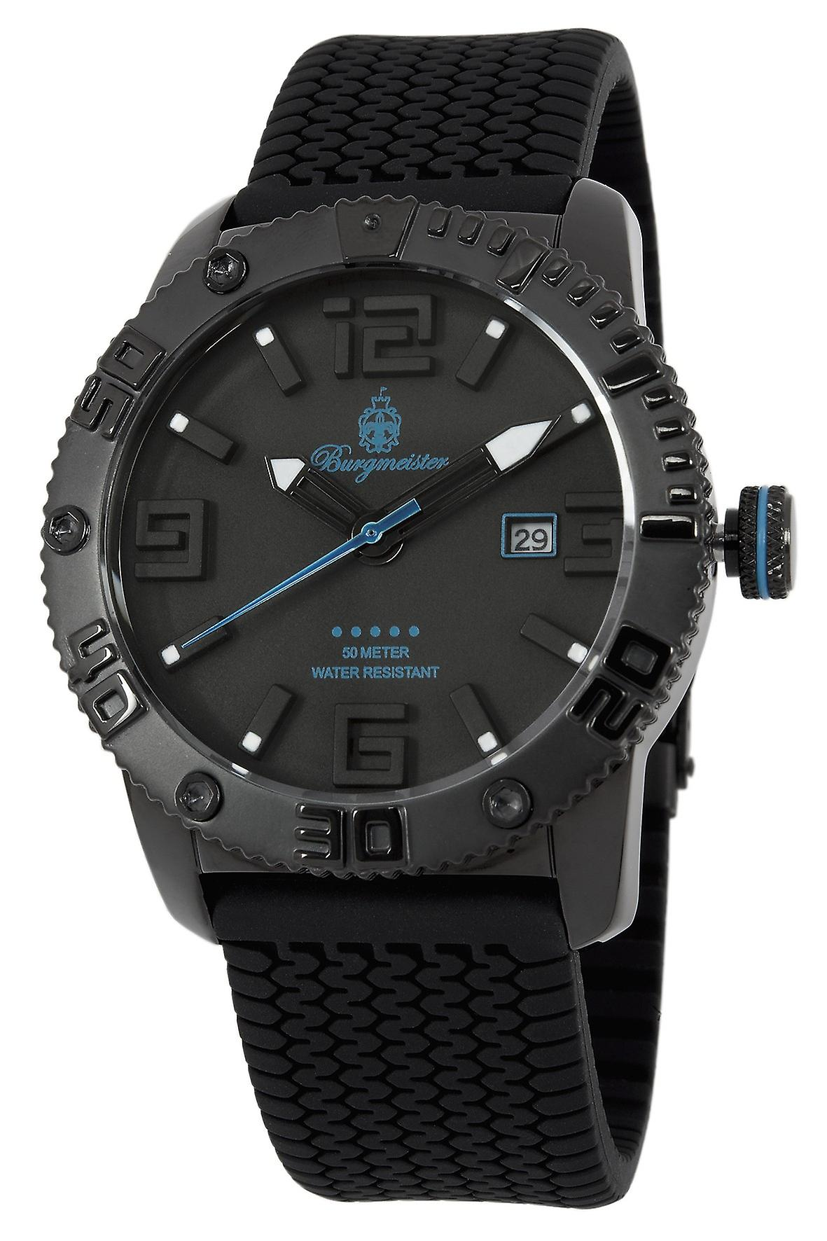 Burgmeister BLACK! Gents  Watch BM522-622D