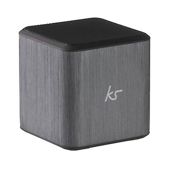 KITSOUND Speaker Cube Silver 3, 5 mm connector