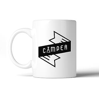 Camper Trendy Design Unqiue Graphic Ceramic Mug For Camping Lovers